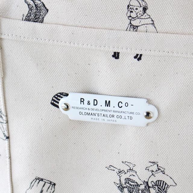 R&D.M.Co- オールドマンズテーラー B.Sプリントトートバッグ(S)