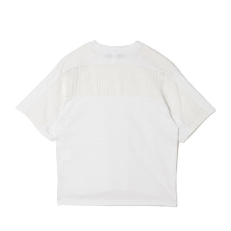 White Mountaineering ホワイトマウンテニアリング  MESH CONTRASTED T-SHIRTS WL2071508