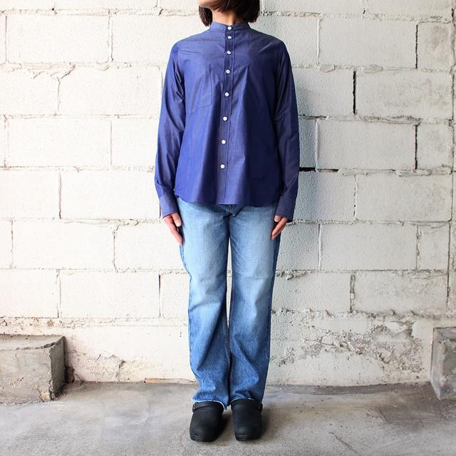 H/Tバンドカラーシャツ