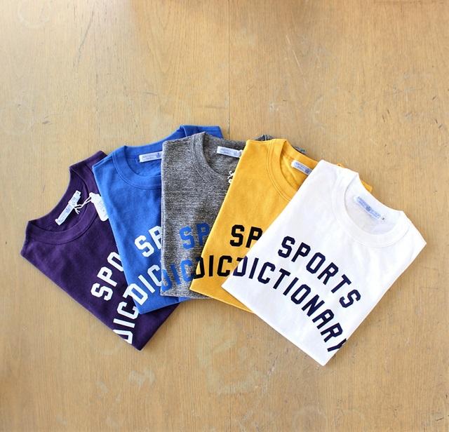 R&D.M.Co- オールドマンズテーラー SPORTS DICTIONARY  レディース半袖Tシャツ(全5色)