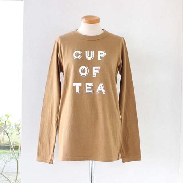 R&D.M.Co- オールドマンズテーラー CUP OF TEA レディース長袖Tシャツ(全2色)