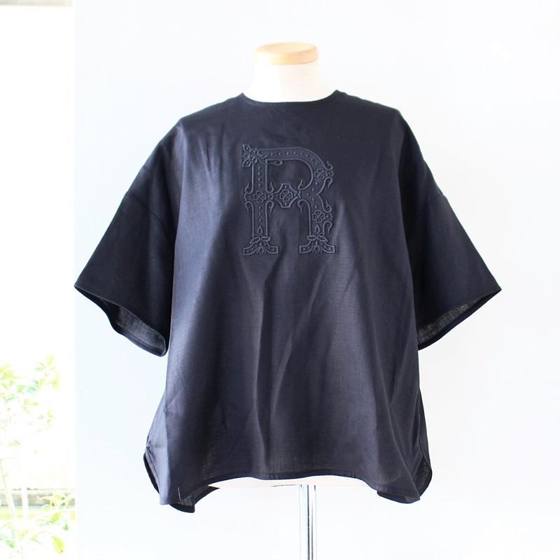 R&D.M.Co- オールドマンズテーラー 刺繍プルオーバーシャツ