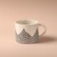 Studio Oyama ティーカップ Barrskog 針葉樹 北欧 スウェーデン