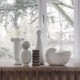 ferm LIVING シェルポット オブジェ 花瓶 鉢カバー ファームリビング 北欧 デンマーク