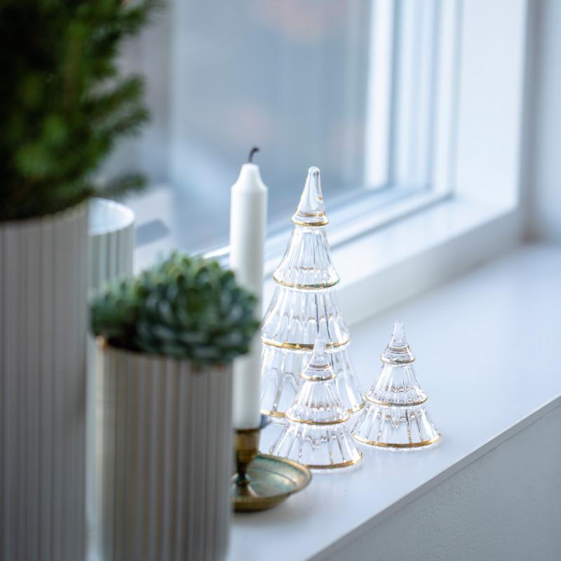 HOLMEGAARD クリスマスツリー S ガラス H7.5cm ホルムガード 北欧 デンマーク
