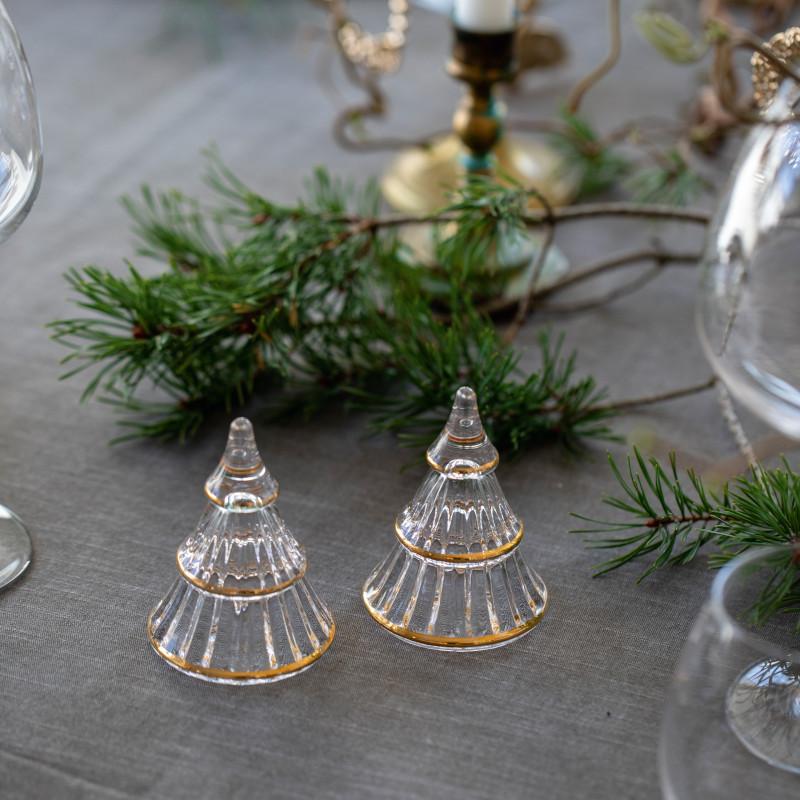 HOLMEGAARD クリスマスツリー L ガラス H13.5cm ホルムガード 北欧 デンマーク