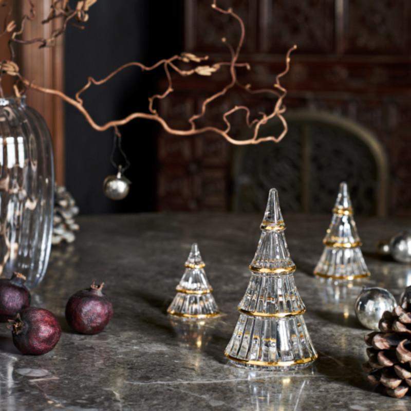 HOLMEGAARD クリスマスツリー XL ガラス H19cm ホルムガード 北欧 デンマーク