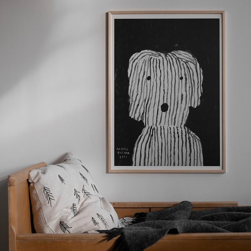 Fine Little Day TALL 刺繍 クッションカバー 麻70% ファインリトルデイ 北欧 スウェーデン【ネコポスOK】