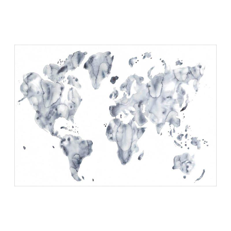 Silke Bonde 「Blue world/青い世界」 70x50 アートポスター 北欧 デンマーク