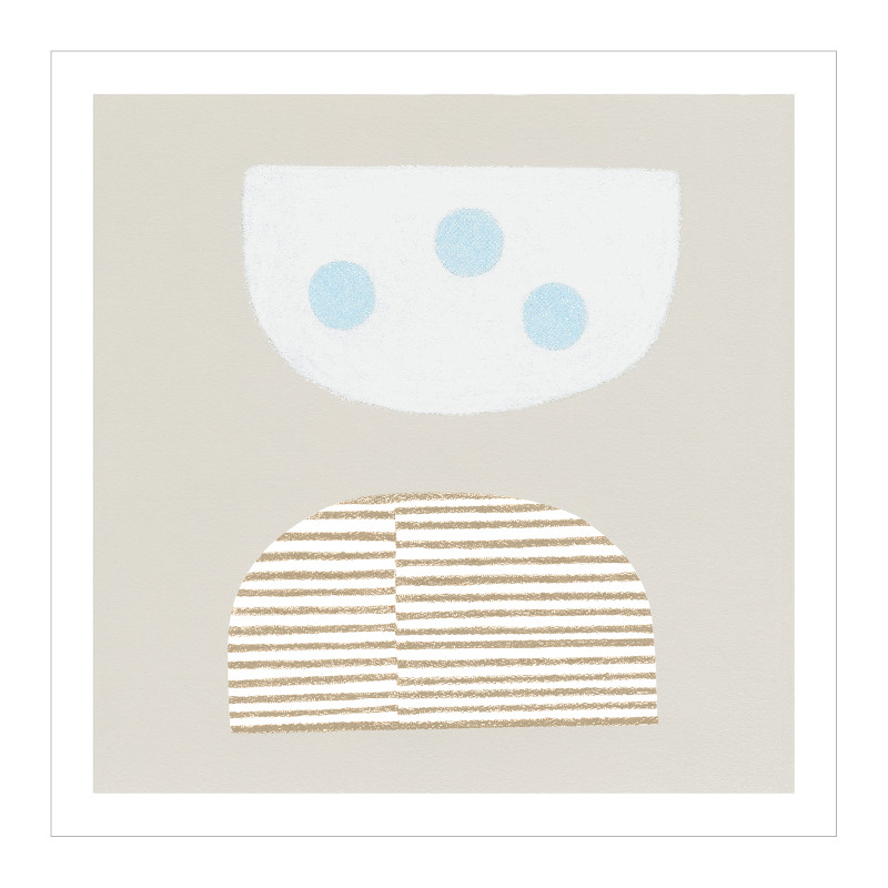 THE POSTER CLUB BLUE EGGS 50x50cm アートポスター 北欧 デンマーク