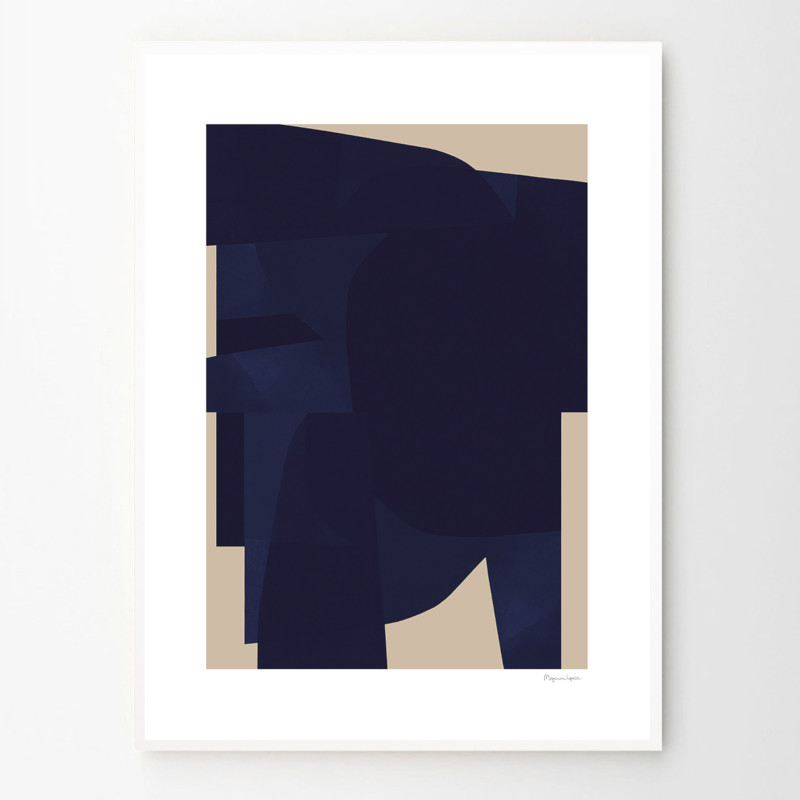 THE POSTER CLUB BLUE 50x70cm アートポスター 北欧 デンマーク