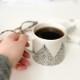 Studio Oyama コーヒーカップ Barrskog 針葉樹 ブラック 北欧 スウェーデン