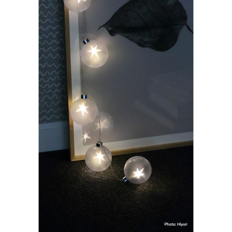 浮かびあがる星が素敵!SPARKLE☆STAR ストリングライト LED【USB電源/電池どちらもOK】