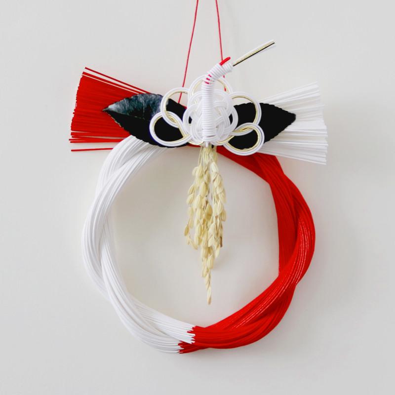 水引デザイナー長浦ちえさんの 水引お正月飾り「紅白さざんか_5」 TIER・タイヤー 日本