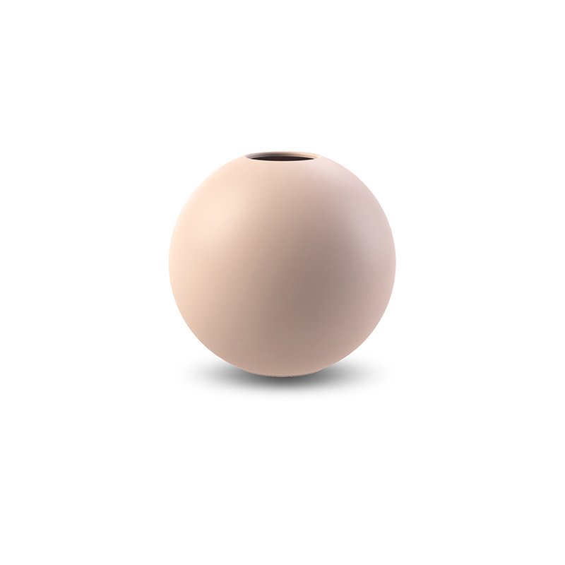Cooee Design ボールフラワーベース 10cm ダスティピンク 花びん 北欧 スウェーデン