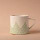 Studio Oyama コーヒーカップ Barrskog 針葉樹 グリーン 緑 北欧 スウェーデン