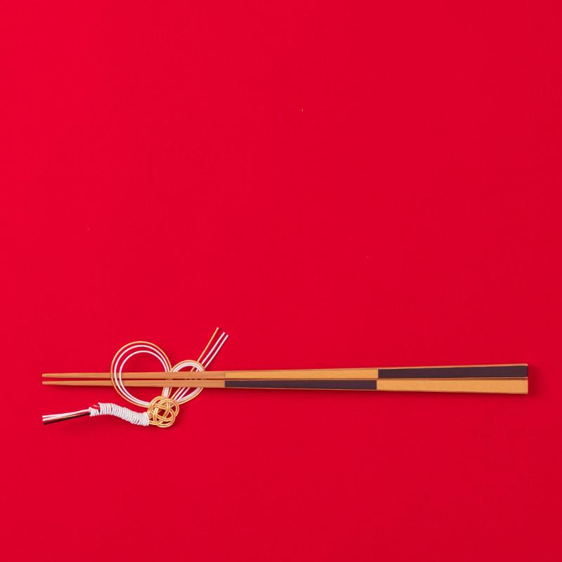 水引デザイナー長浦ちえさんの 水引お箸置き「鶴金」 TIER・タイヤー 日本【ネコポスOK】
