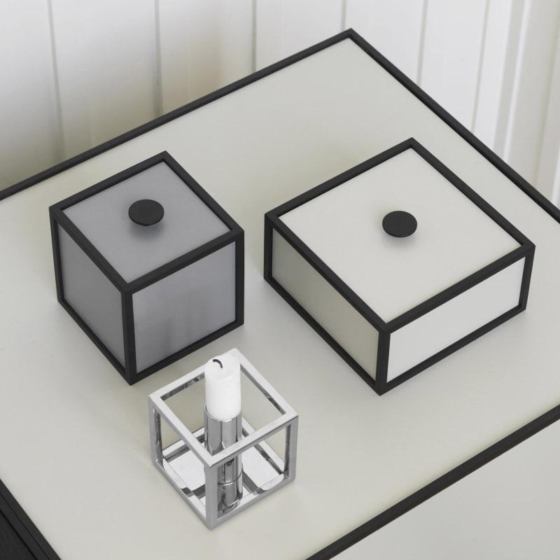 Frame 14cm 小物入れ ホワイト by Lassen 北欧 デンマーク