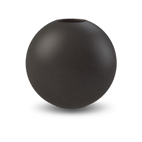 Cooee Design ボールフラワーベース 10cm ブラック 花びん 北欧 スウェーデン