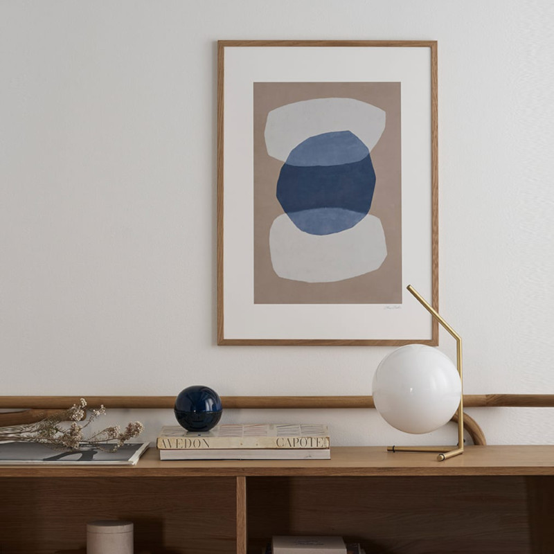 THE POSTER CLUB KIVET/石 50x70cm アートポスター 北欧 デンマーク