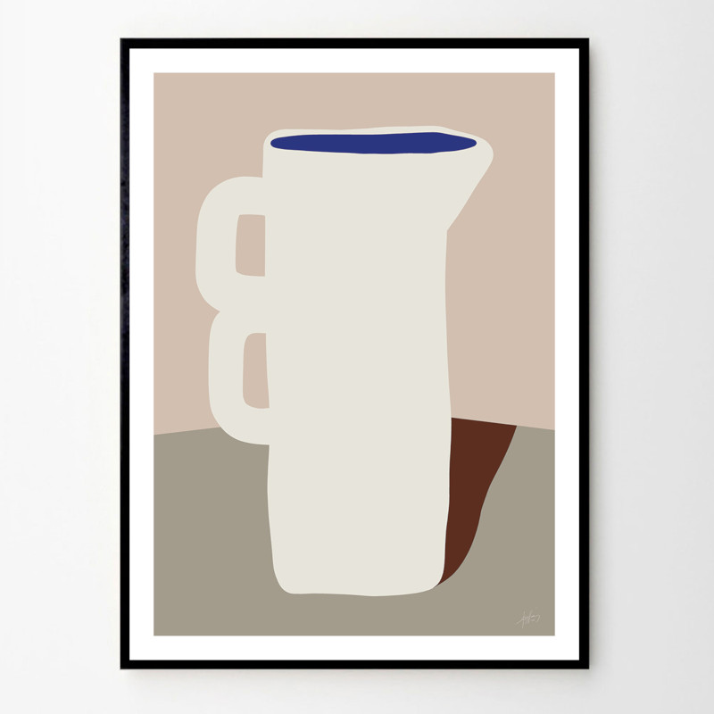 THE POSTER CLUB POTTERY 06 30x40cm アートポスター 北欧 デンマーク