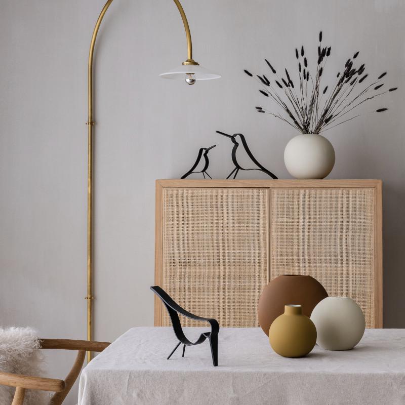 Cooee Design ウッディバード ブラック L 20cm 鳥 木製 オブジェ Woody Bird 北欧 スウェーデン
