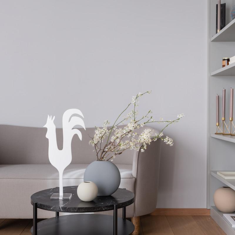 Cooee Design 花瓶 ボールフラワーベース 10cm シェル 北欧 スウェーデン