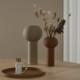 Cooee Design ピラー フラワーベース 24cm ココナッツ 花瓶 北欧 スウェーデン