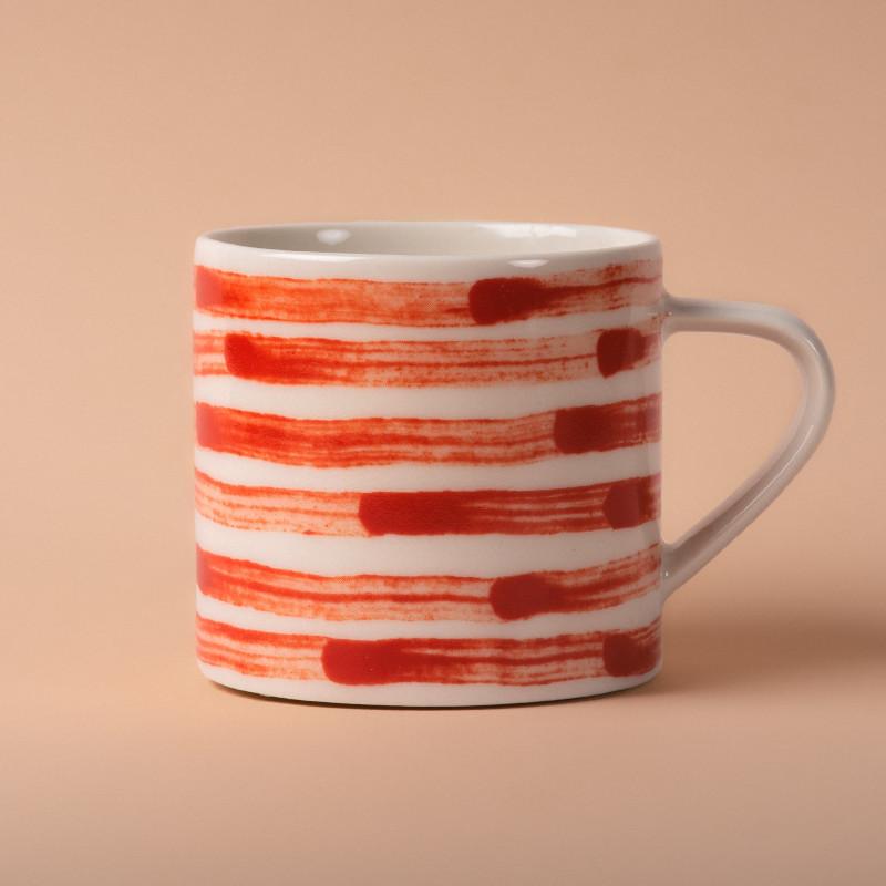 Studio Oyama コーヒーカップ Malström 渦巻 レッド 北欧 スウェーデン