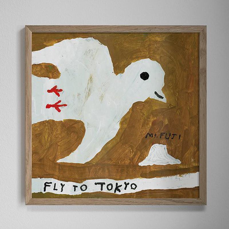 Fine Little Day  FLY TO TOKYO ポスター 50x50cm ファインリトルデイ 北欧 スウェーデン