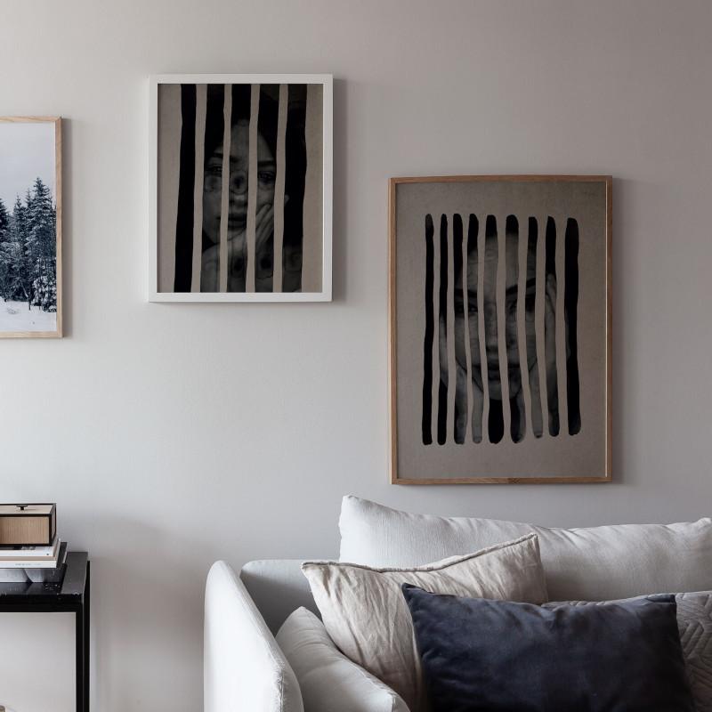Coco Lapine Design ポスター Plisse No.2 40x50cm ベルギー ドイツ