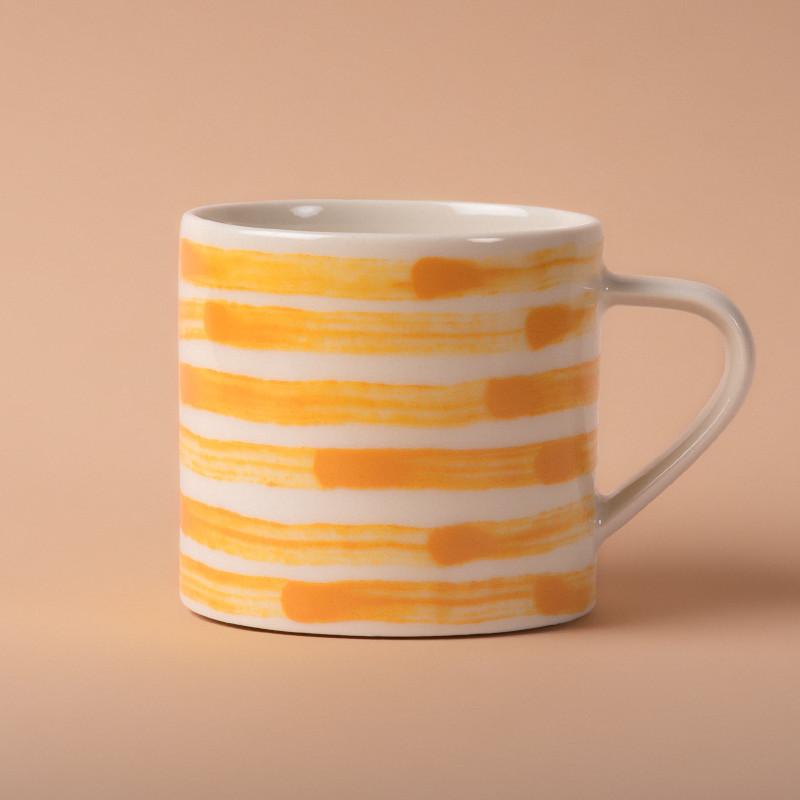 Studio Oyama コーヒーカップ Malström 渦巻 イエロー 北欧 スウェーデン