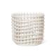 ferm LIVING セラミックバスケット L オフホワイト 小物入れ 鉢カバー ファームリビング 北欧 デンマーク