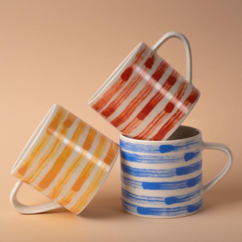 Studio Oyama コーヒーカップ Malström 渦巻 ブルー 北欧 スウェーデン