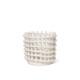 ferm LIVING セラミックバスケット S オフホワイト 小物入れ 鉢カバー ファームリビング 北欧 デンマーク
