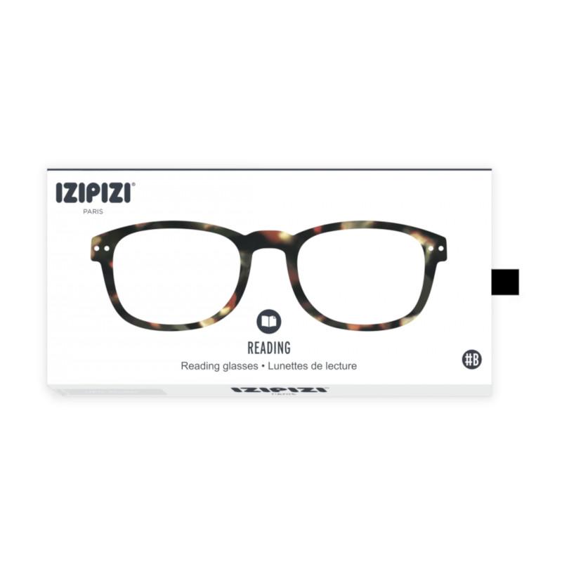 IZIPIZI パリのおしゃれな老眼鏡 リーディンググラス #B 長方形 ベッコウ フランス