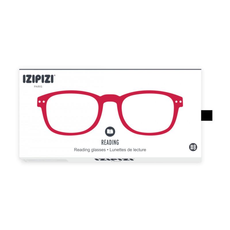 IZIPIZI パリのおしゃれな老眼鏡 リーディンググラス #B 長方形 レッド フランス