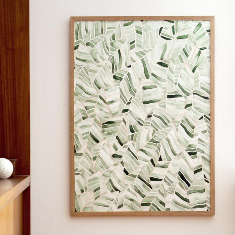 Silke Bonde My Forest/私の森 50x70cm アートポスター 北欧 デンマーク