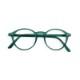IZIPIZI パリのおしゃれな老眼鏡 リーディンググラス #D 円形 グリーン フランス