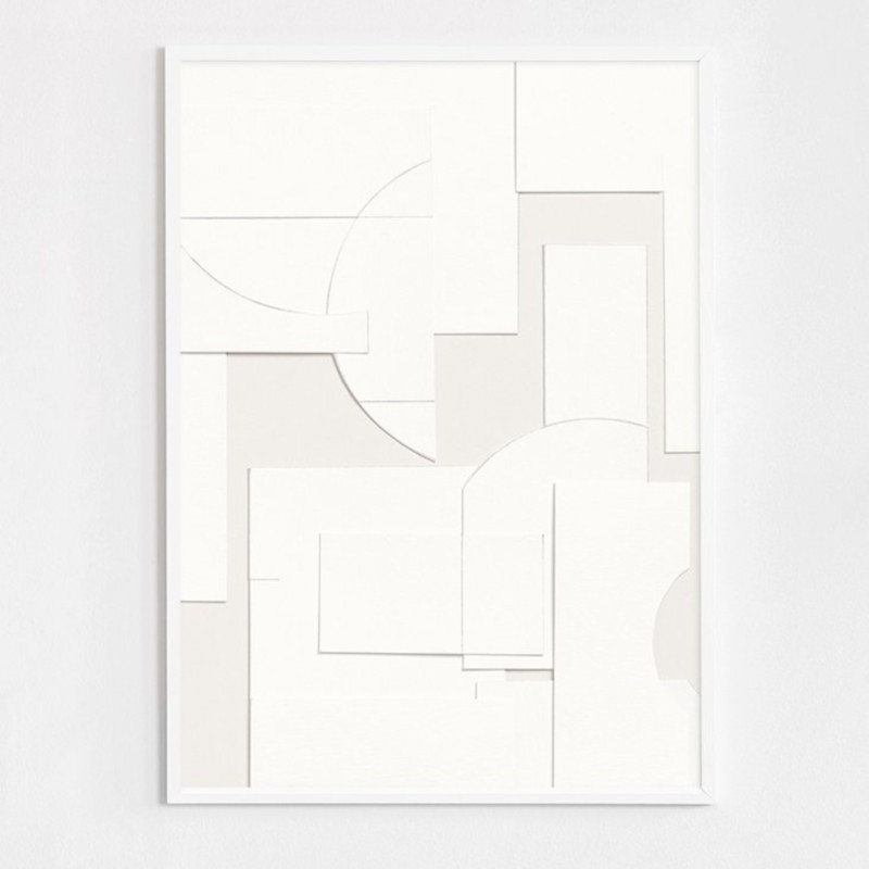 ATELIER CPH DECONSTRUCTED [no.35] 50x70cm アートプリントポスター 北欧 デンマーク