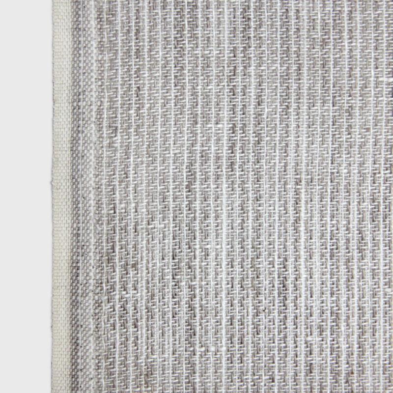 KARIN CARLANDER 小ぶりな多目的クロス 麻 ふきん ナプキン ハンドタオル グレー SASHIKO 25x50cm TEXTILE NO. 9 カリンカーランダー 北欧 デンマーク【ネコポスOK】