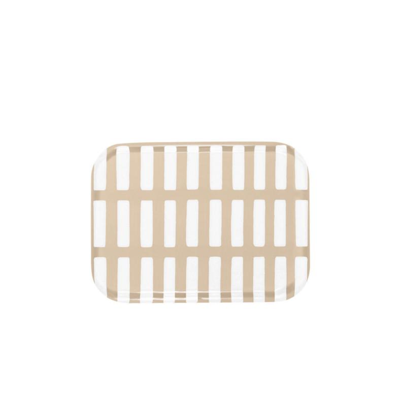 Artek シエナ トレー 20×27cm サンド x ホワイト アアルト アルテック SIENA 北欧 フィンランド【ネコポスOK】