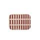 Artek シエナ トレー 20×27cm ブリック x サンド シャドー アアルト アルテック SIENA 北欧 フィンランド【ネコポスOK】