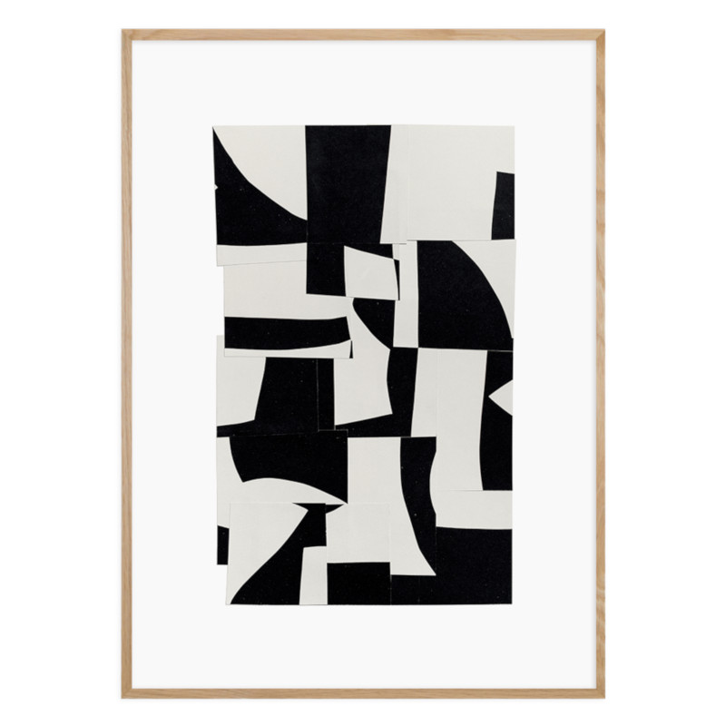 ATELIER CPH DECONSTRUCTED [no.37] 50x70cm アートプリントポスター 北欧 デンマーク
