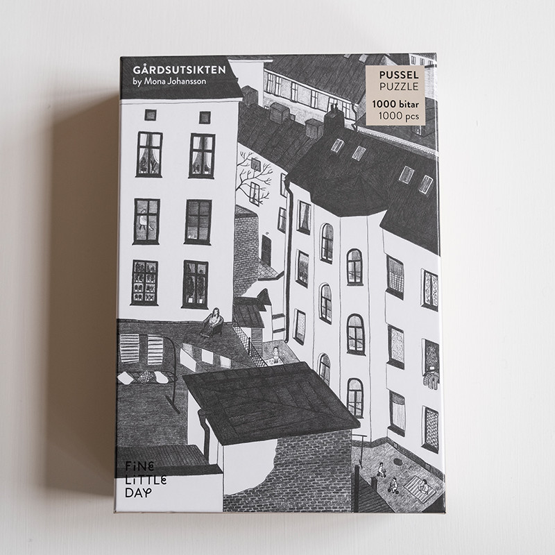 Fine Little Day パズル GARDSUTSIKTEN 48×67cm 1,000ピース ファインリトルデイ 北欧 スウェーデン