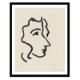 Henri Matisse アンリ マティス Nadia in Sharp Profile A2変形 アートポスター フランス
