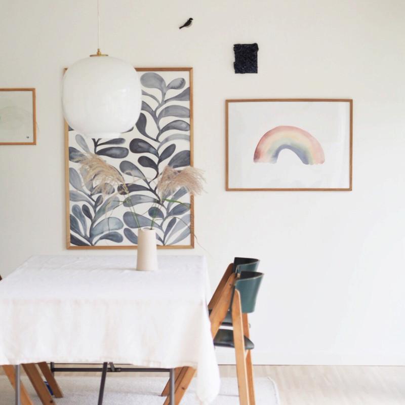 Silke Bonde Growing 70x100 アートポスター 北欧 デンマーク