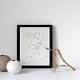 Henri Matisse アンリ マティス Three Quarter Profile A4変形 アートポスター フランス【ネコポスOK】