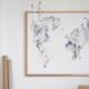 Silke Bonde Our world/私たちの世界 100x70cm アートポスター 北欧 デンマーク