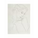 Henri Matisse アンリ マティス Three Quarter Profile A2変形 アートポスター フランス